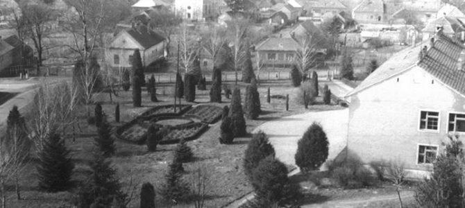 Az iskolapark megalkotója: Penczinger Ferenc