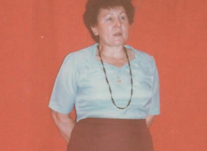 Pedagógus volt Somogyszobon- Futó Árpádné, Teca néni